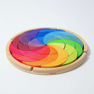Grimm's - Colour Wheel Rainbow 36 pc