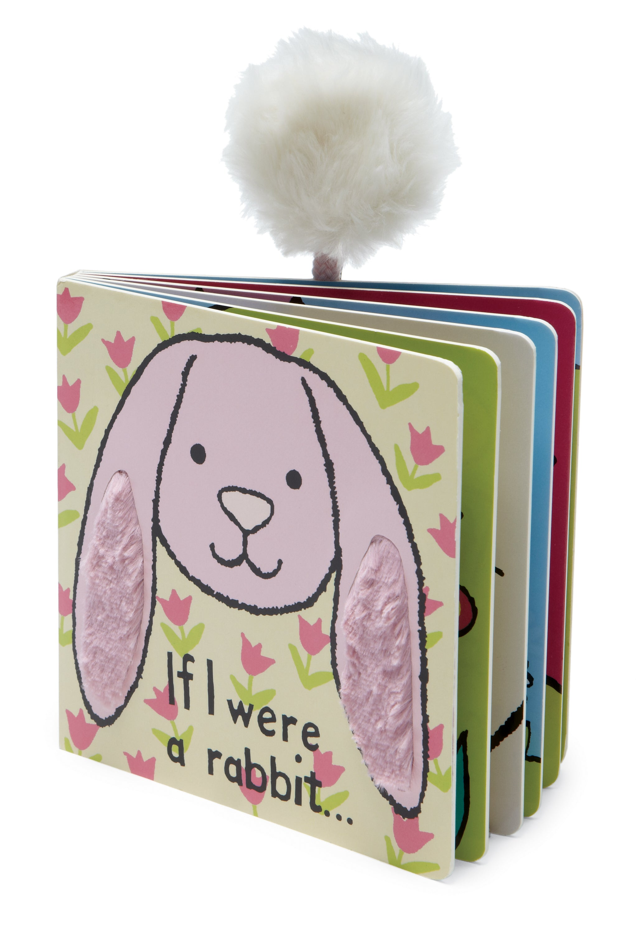 Book - If I Were a Rabbit Pink Tulip