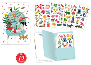 DJeco - Notebook Stickers Sarah