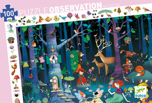 DJeco - Puzzle 100 Enchanted Forest