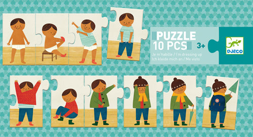 DJeco - Puzzle Duo Dressing Up