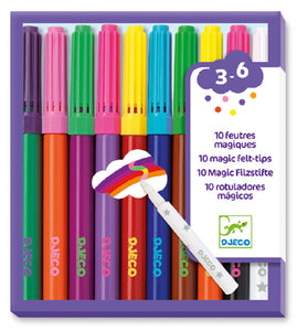 DJeco - Markers Magic Felt Tips 10