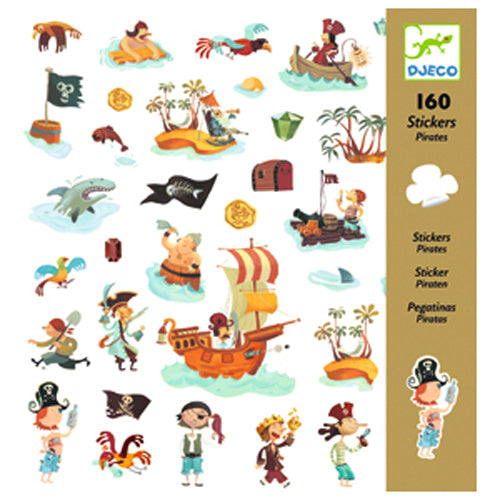 DJeco - Stickers Pirates