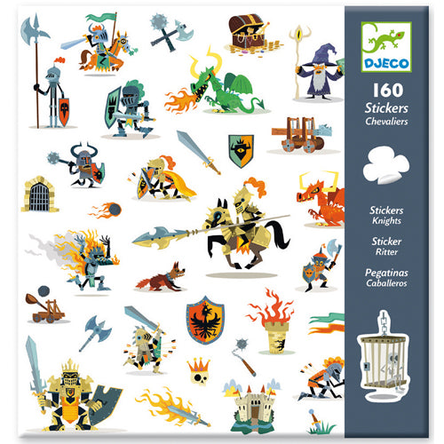 DJeco - Stickers Knights