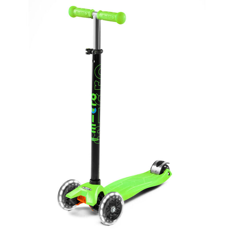 MICRO Maxi LED - Scooter Green