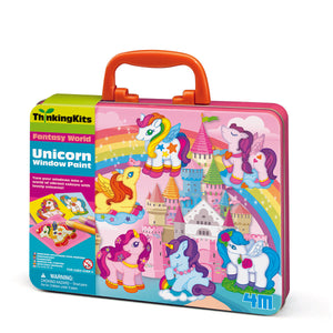 4M Thinking Kit - Unicorn Window Paints