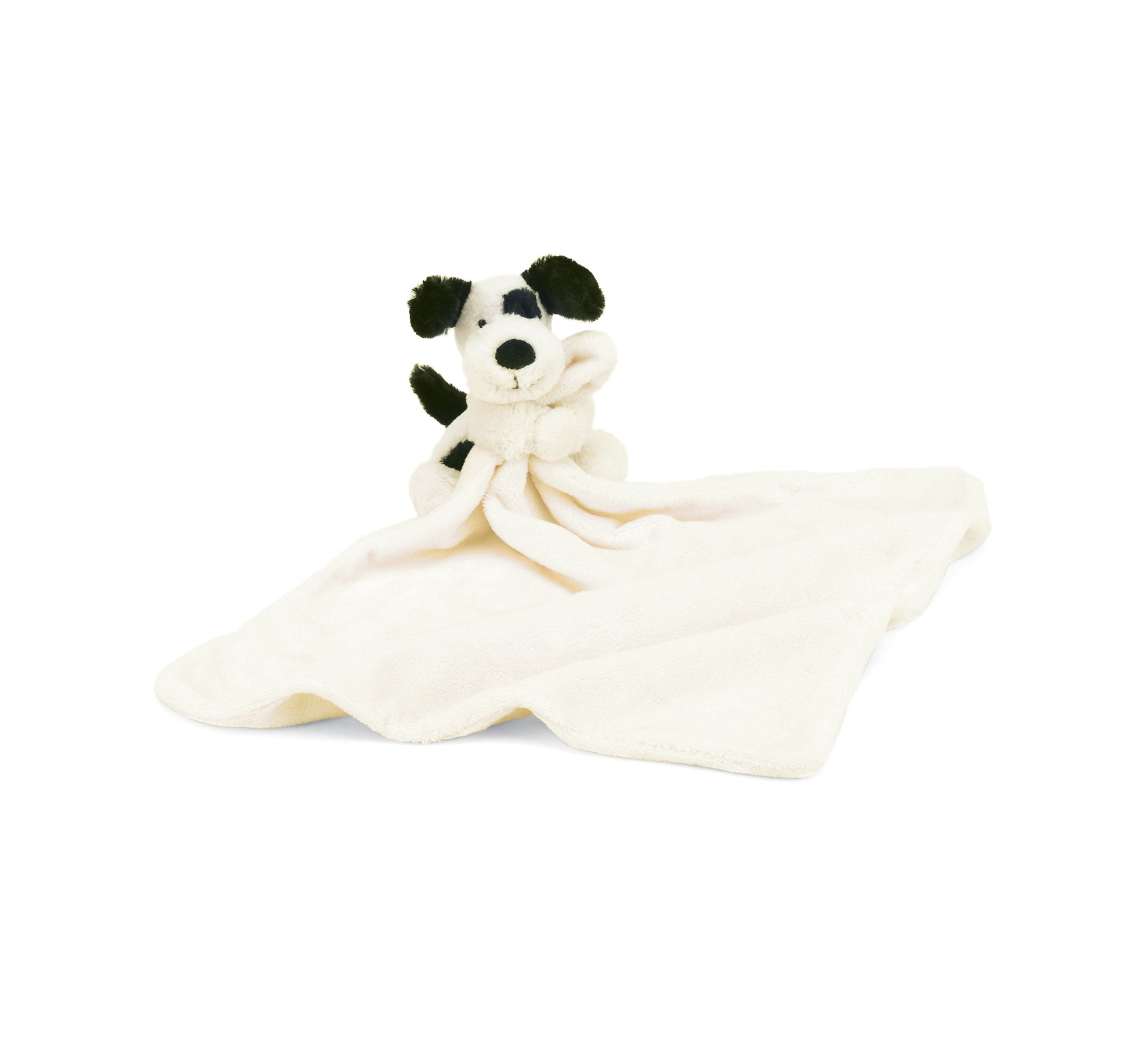 Bashful Puppy Black/Cream Soother