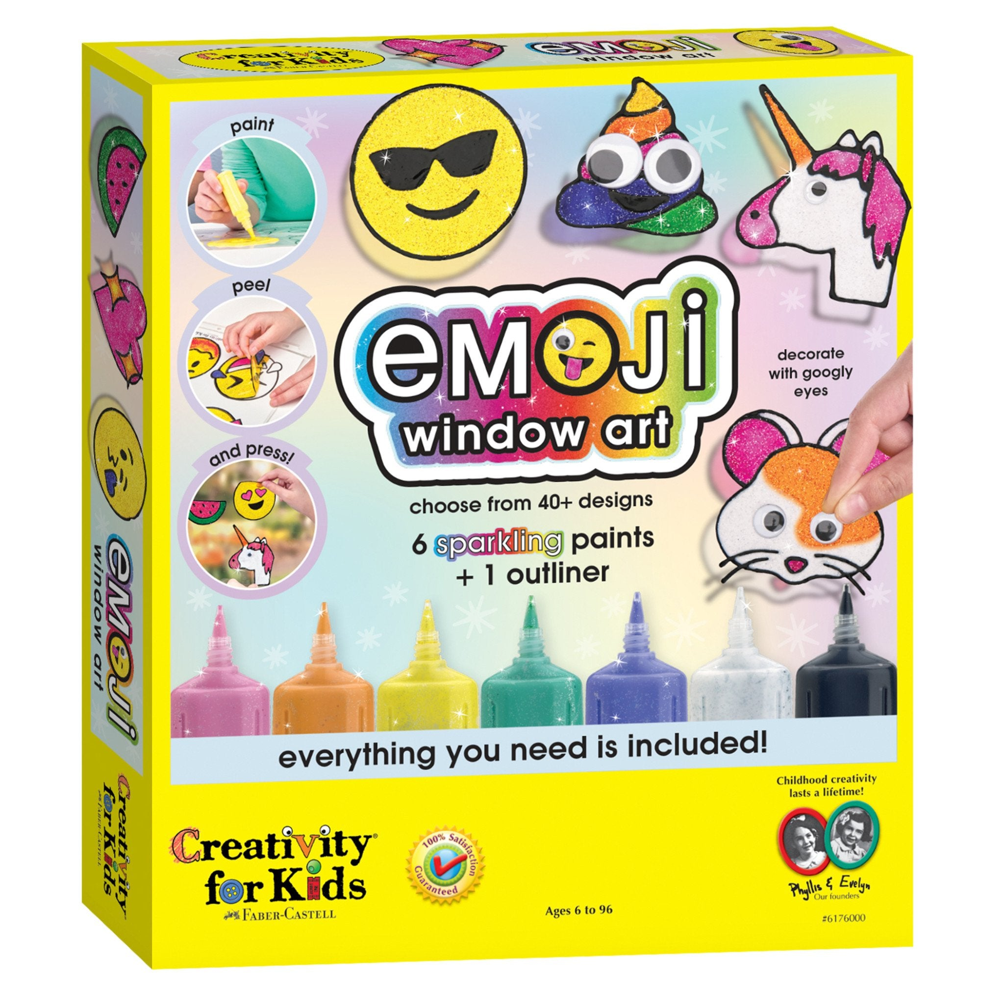 Unique - Emoji Window Paint Activity Set