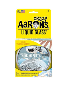 "Aaron's Thinking Putty - Liquid Glass Assorted 4"" tin"