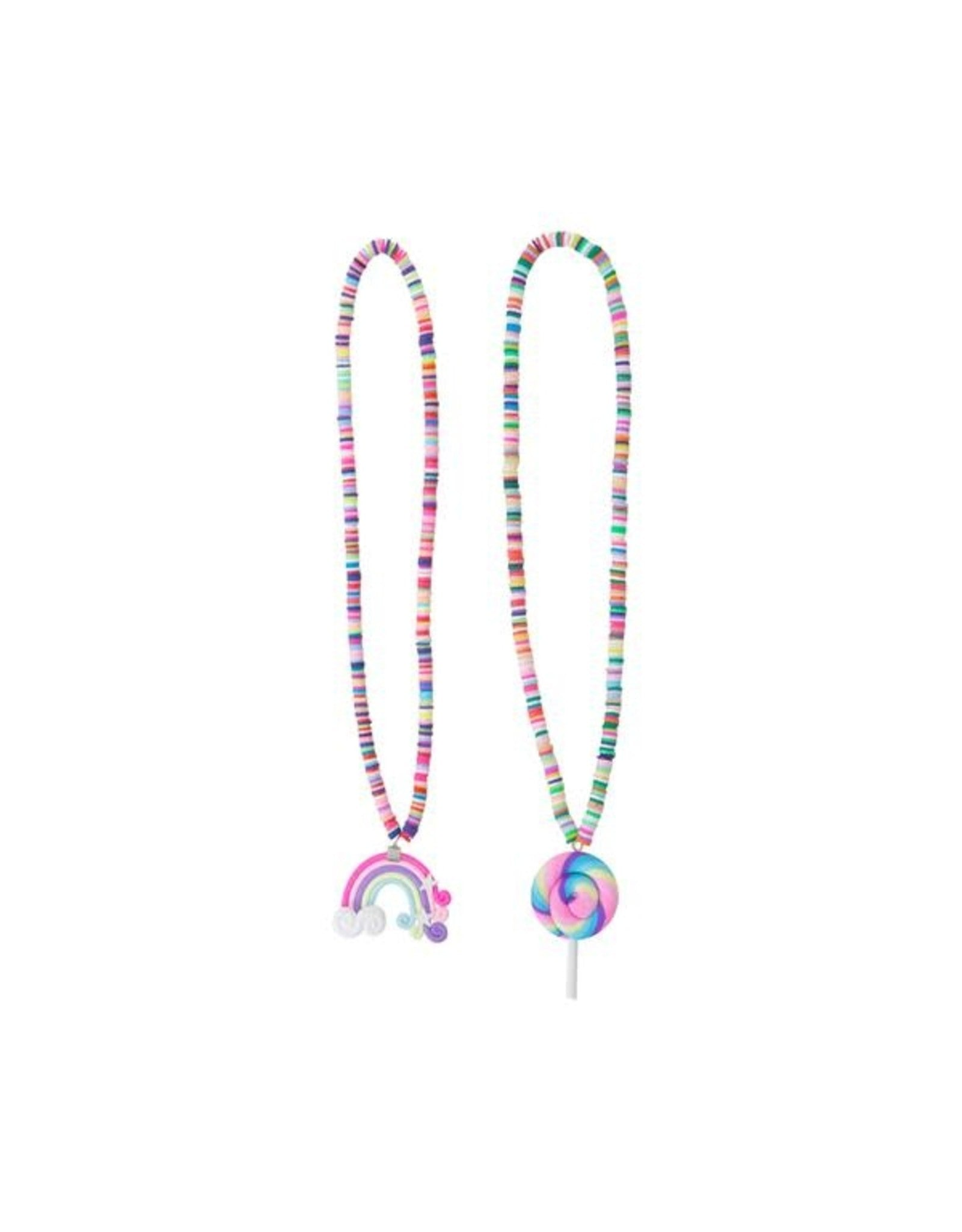 Necklaces - Rainbow Lolly Assorted