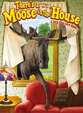 Gamewright - There's a Moose in House