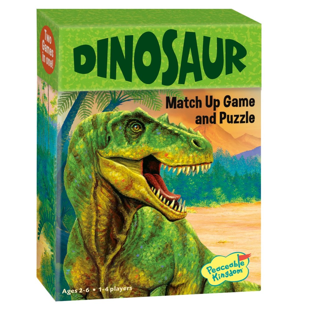 Peaceable - Match Up Dinosaurs