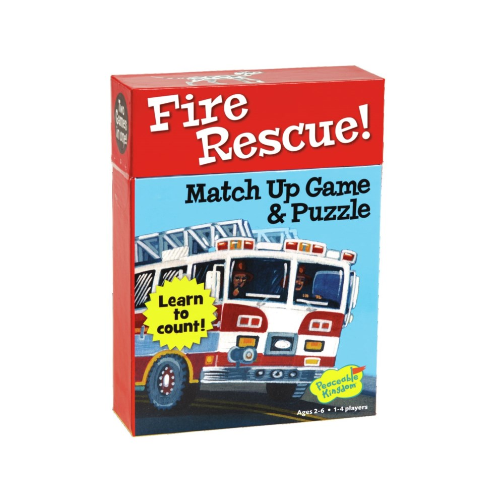 Peaceable - Match Up Fire Rescue