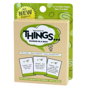 Things Card Game