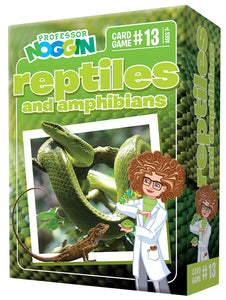 Prof Noggin's Reptiles and Amphibian NEW