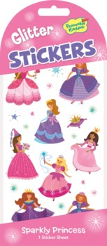 Stickers Glitter - Sparkly Princess