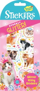 Stickers Glitter - Kitties