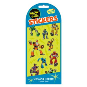 Stickers - Glowing Robots