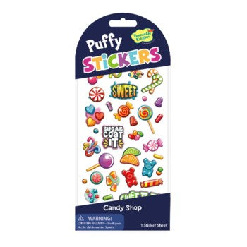 Stickers Puffy - Candy Shop