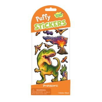 Stickers Puffy - Prehistoric Dinosaur