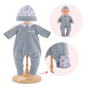 "12"" Doll Clothes - Pajamas Panda Party"