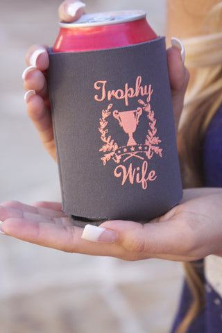 "Judith March ""Trophy Wife"" Can Cooler"