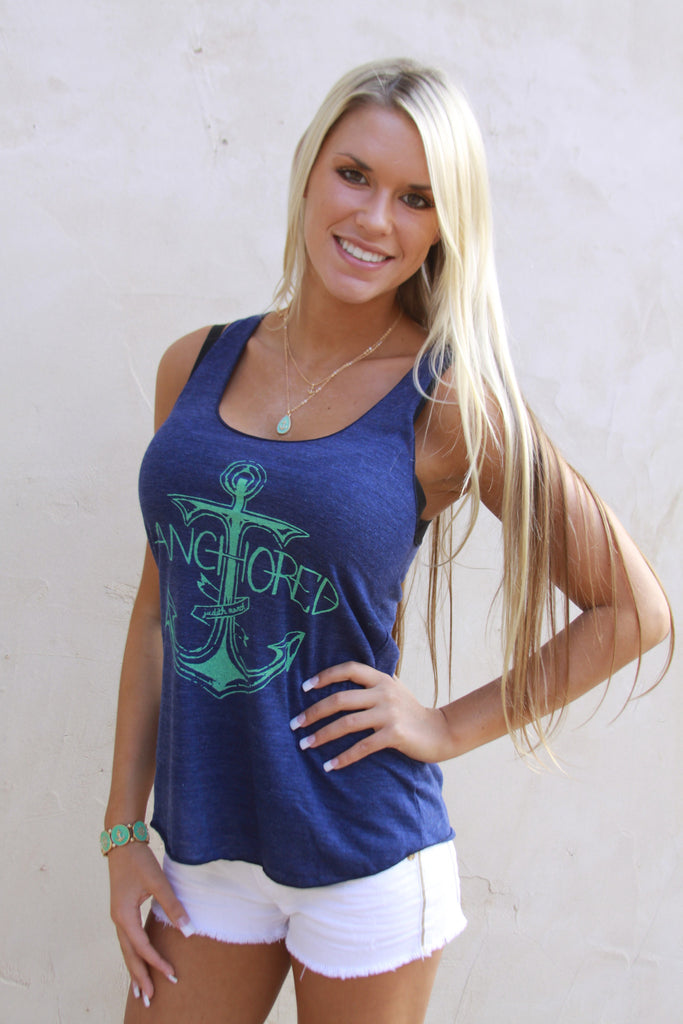 "Judith March ""Anchored"" tank"