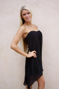 Spike the Punch dress in black