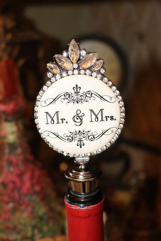 Mr. & Mrs. Wine stopper