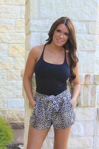 Wild One Leopard shorts