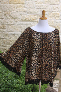 Queen of the Jungle top-Size 1X to 3X