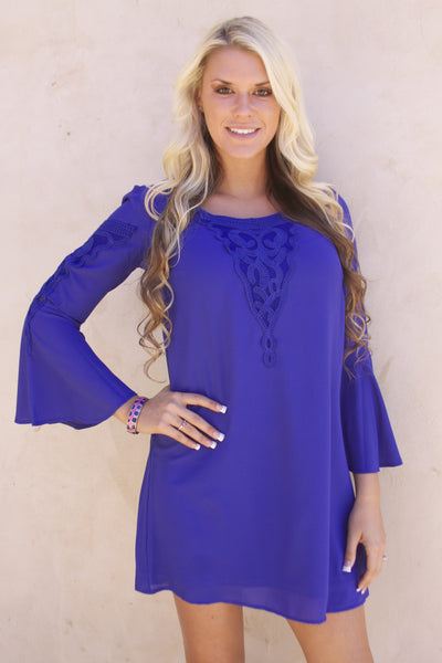 St. Lucia Dress in Royal Blue