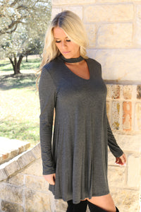 Sweet Talker dress in Gray