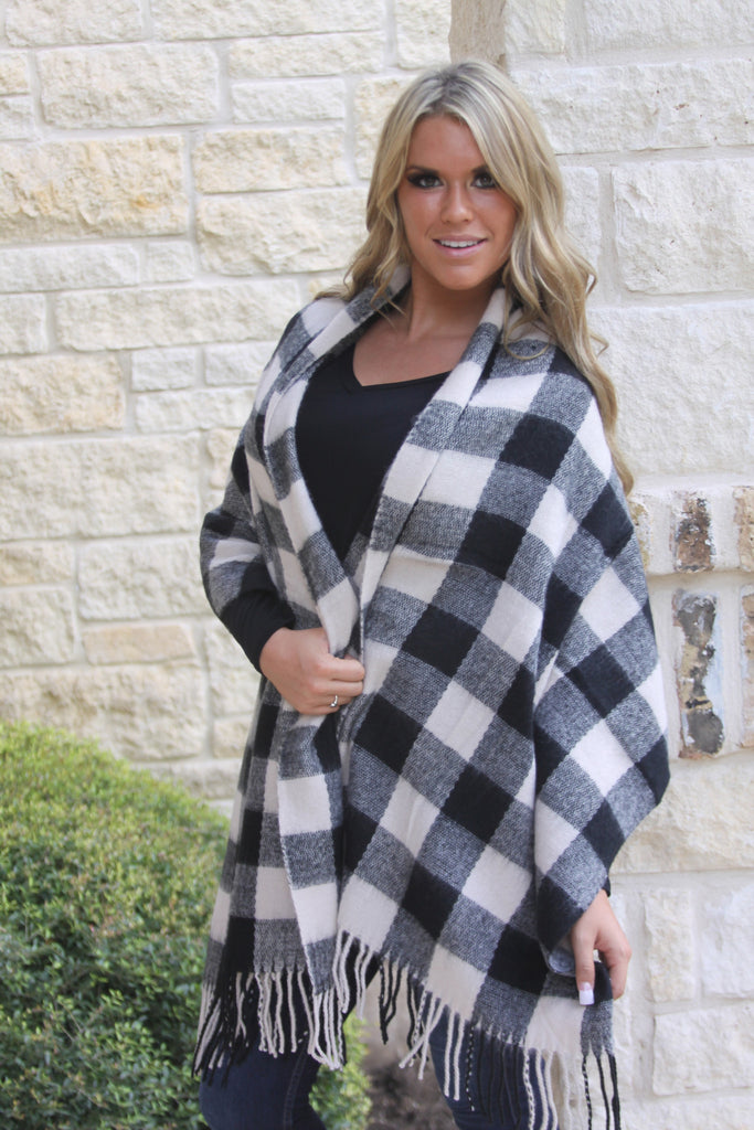 Buffalo Check Blanket scarf