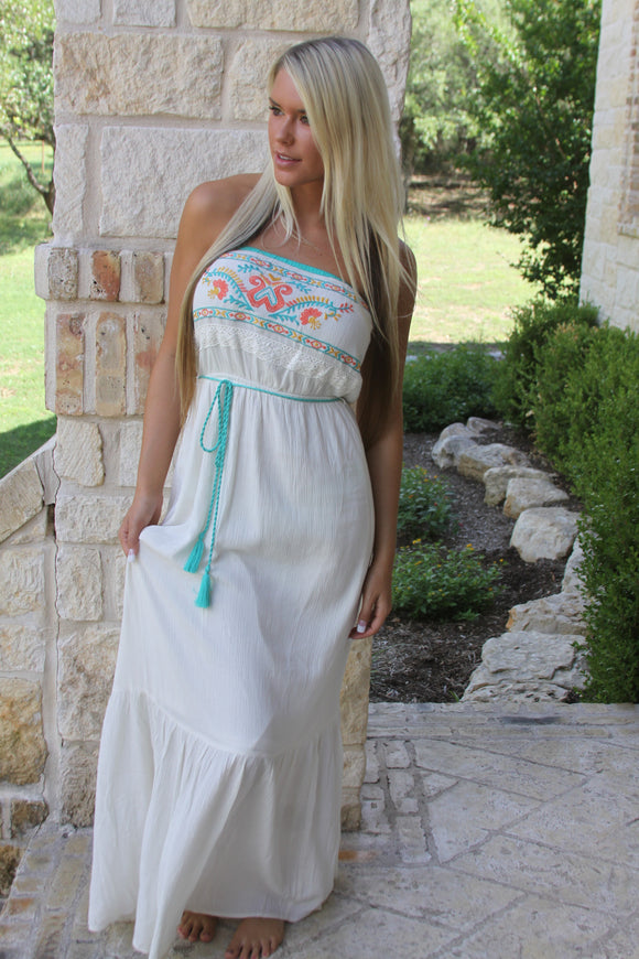 One with Nature maxi dress