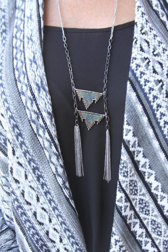 Bow and Arrow necklace