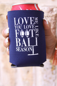 "Judith March ""Football Lovin"" Can Cooler"