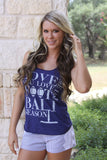 "Judith March ""Love me like you love Football Season"" tank"