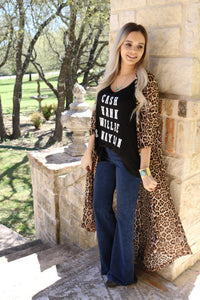 Leopard duster By Crazy Train