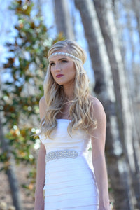 Miss Iverson Bridal Belt by Pink Pewter