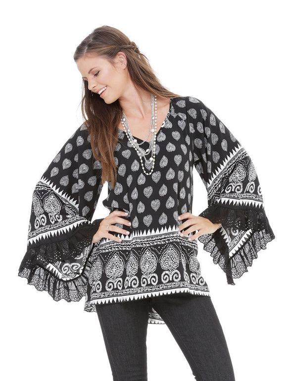 Let's Rodeo tunic by 2tee Couture