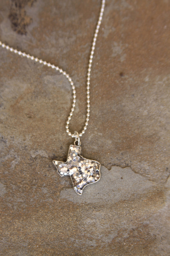 Buffalo Girls - Glitter Texas Necklace