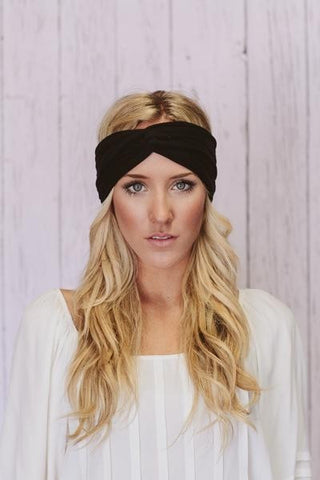 Black Turban hairband