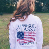 Jadelynn Brooke Keeping it Classy tee