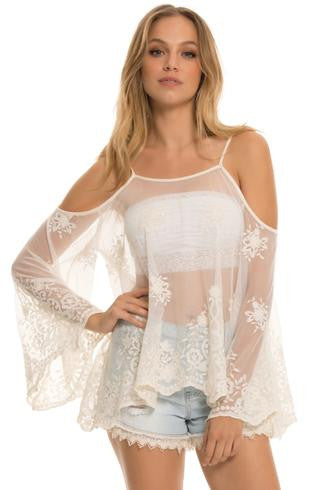 For the Frill of It lace top
