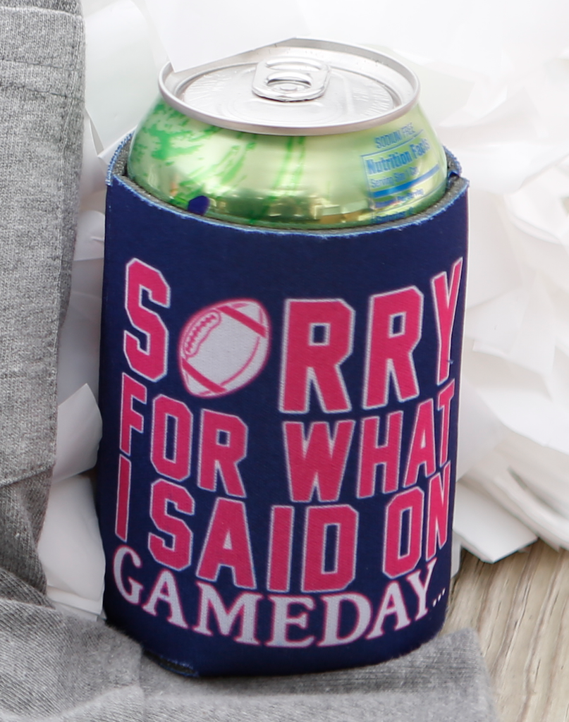 Can Cooler - Sorry for what I said on Gameday