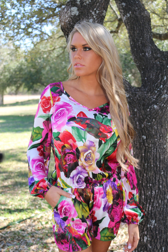 Spring Infusion Romper