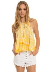 Sunflower Yellow tank