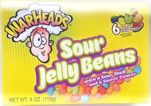 Theatre box - Warheads Sour Jelly Beans
