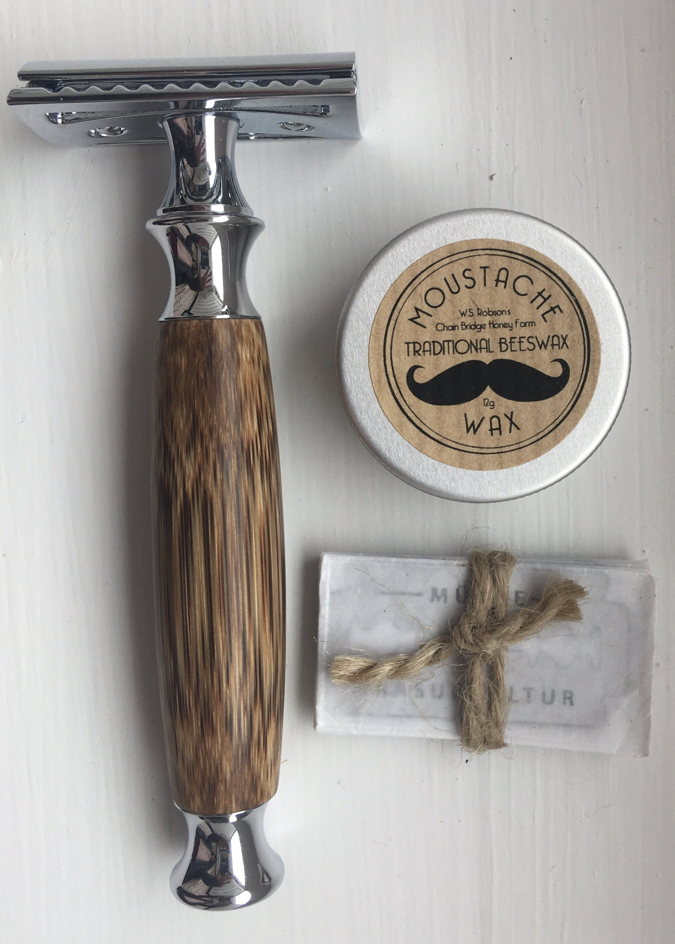 Bamboo Safety Razor from Acala